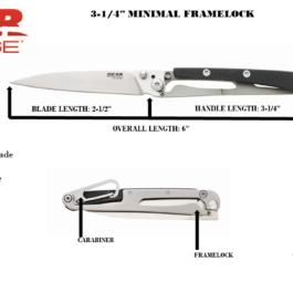 3-1/2″ Minimal Framelock – 61526