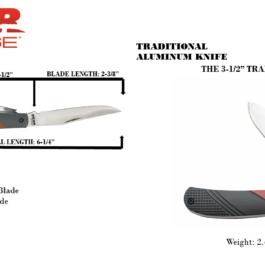 3-1/2″ Aluminum Trapper – 61532
