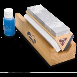 GATCO® Arkansas Tri-Hone Sharpening System – 8T001